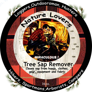 Nature Lovers Tree Sap Remover